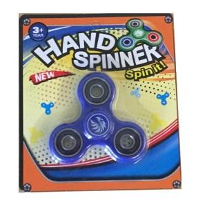 Hand spinner finger spinner ny i förpackning - Blå