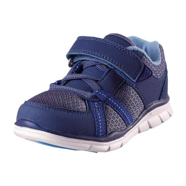 Reima Lite blå sneaker superlätt tvättbar i maskin strl 24