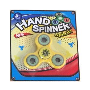Hand spinner finger spinner ny i förpackning - Gul