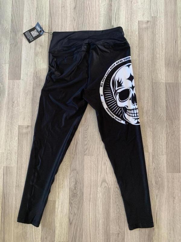 Northern Spirit tights strl XL - modell Big Skull Black