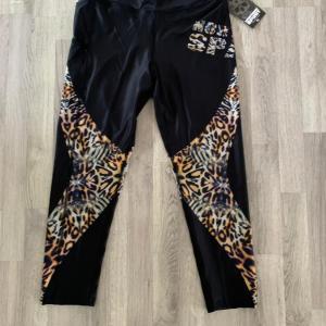 Northern spirit tights träningsbyxor strl XL - Leopard