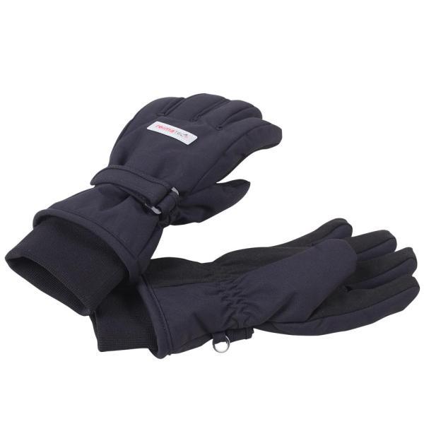 Reimatec Tartu Black Svarta handskar vinter STRL 6 8-10 ÅR