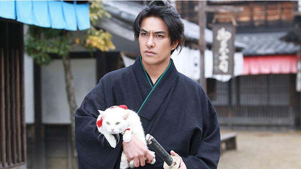 This Samurai Saves a Feline