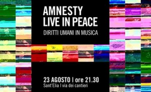 AMNESTY LIVE IN PEACE.