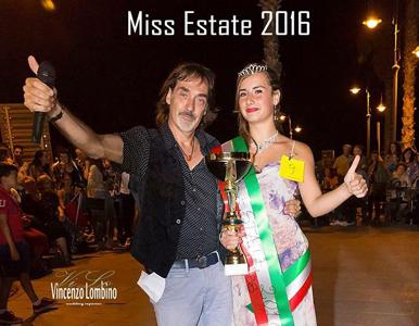 Marika Gargano, bagherese 14 anni; vincitrice del concorso miss estate 2016