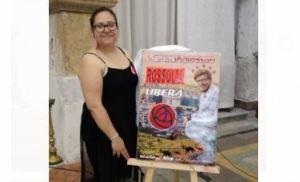 """ROSALIA ON THE ROAD 2017 - PRESENTATA ALLA STAMPA """"ROSSOLIA"""" ISMAELE LA VARDERA IL NUOVO VOLTO DELLA SANTUZZA"""
