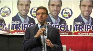 """Filippo Tripoli: """"Grazie a tutti per l'affetto dimostratomi. Il nostro impegno continua"""""""