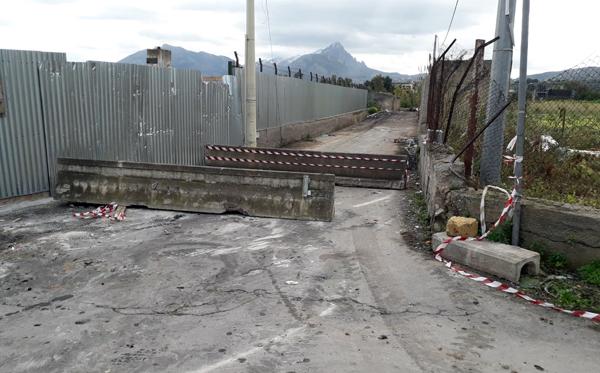 Chiusa di nuovo la Via Serradifalco/Ranteria