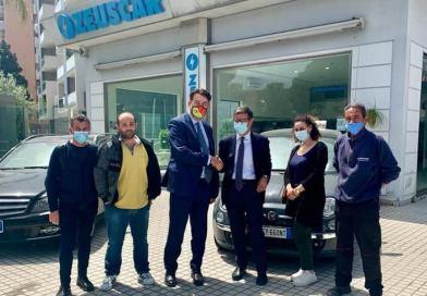LEGALITA': Affidato a Gianluca Maria Calì e alla Calicar.it un bene sequestrato alla mafia