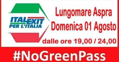 """POLITICA: Raccolta firme """"No Green pass"""" ad Aspra"""