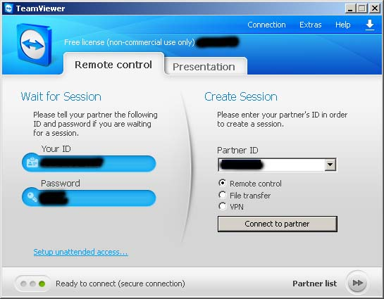 Setting Remote Desktop