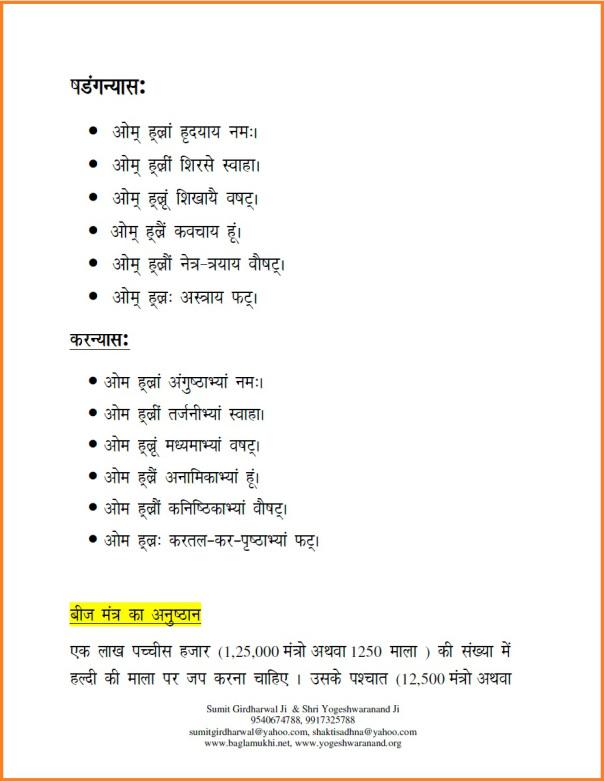 baglamukhi beej mantra in hindi बगलामुखी बीज मंत्र part 3
