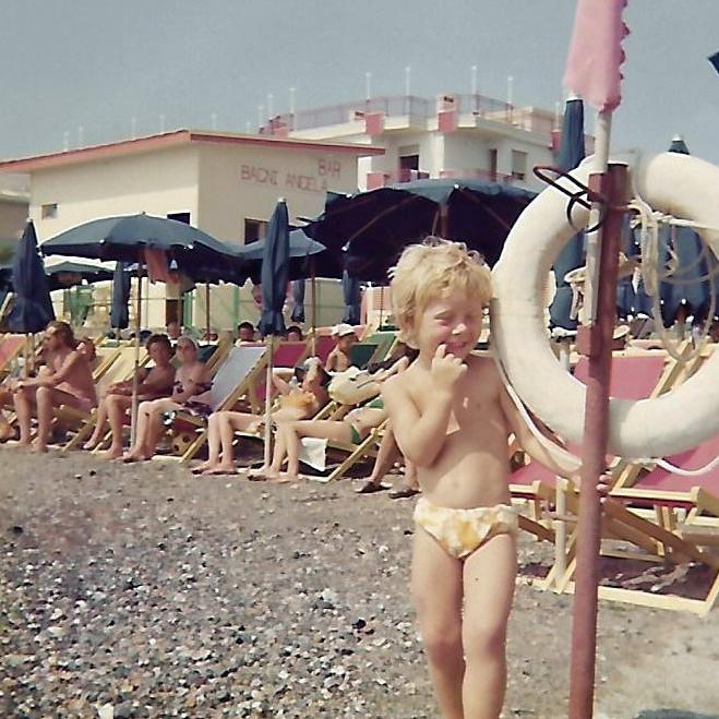 Angela ai Bagni Angela nel 1975