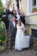 Hochzeit mit Dudelsack