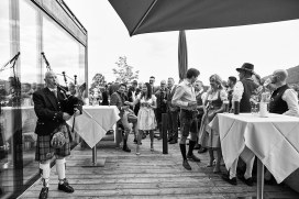 Hochzeit in Gmund am Tegernsee.