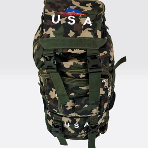 Outdoor Travel Bag 70 Liter Camo