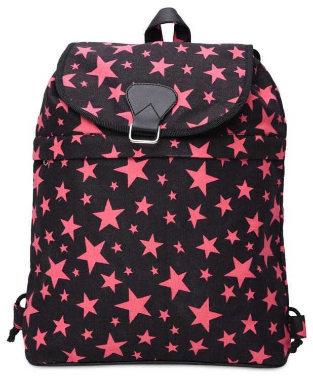 Limeroad Pink Stars Backpack