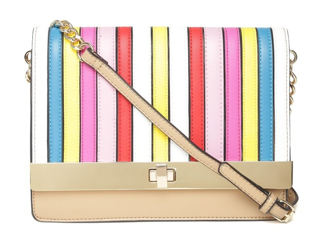 ALDO Multicoloured Striped Sling Bag