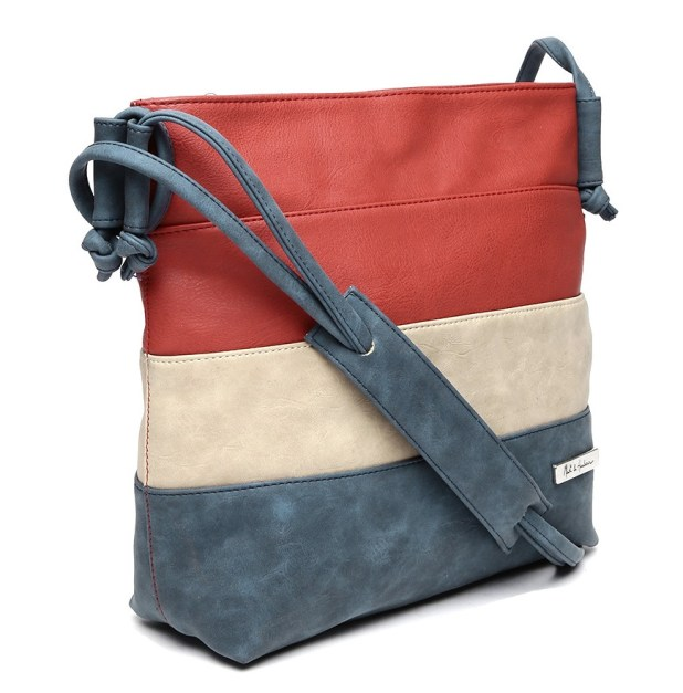 Myntra Mast & Harbour Striped Handbag