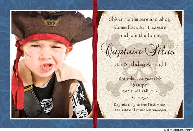 pirate birthday invitations free