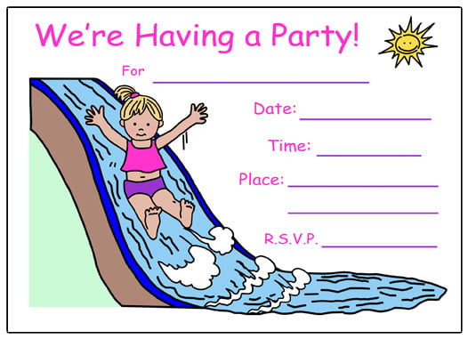 fill in birthday invitations free