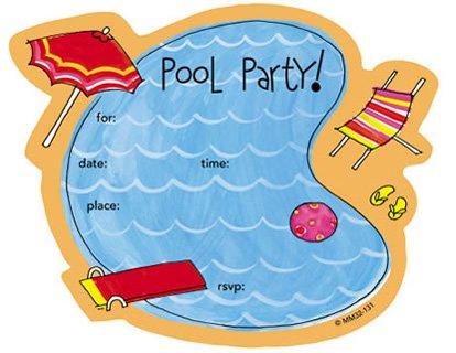 Printable Pool Party Invitations – gangcraft.net