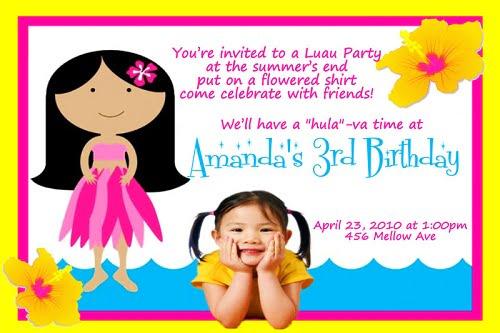 3rd Birthday Invitation Cards – 3rd Birthday Invitation Cards