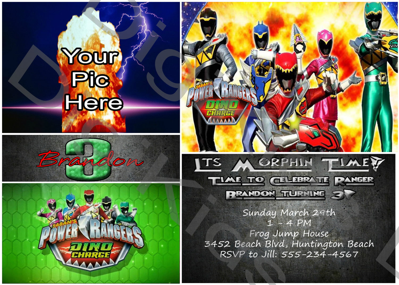 Power Ranger Birthday Invitations Free Printable Birthday Invitation Templates Bagvania