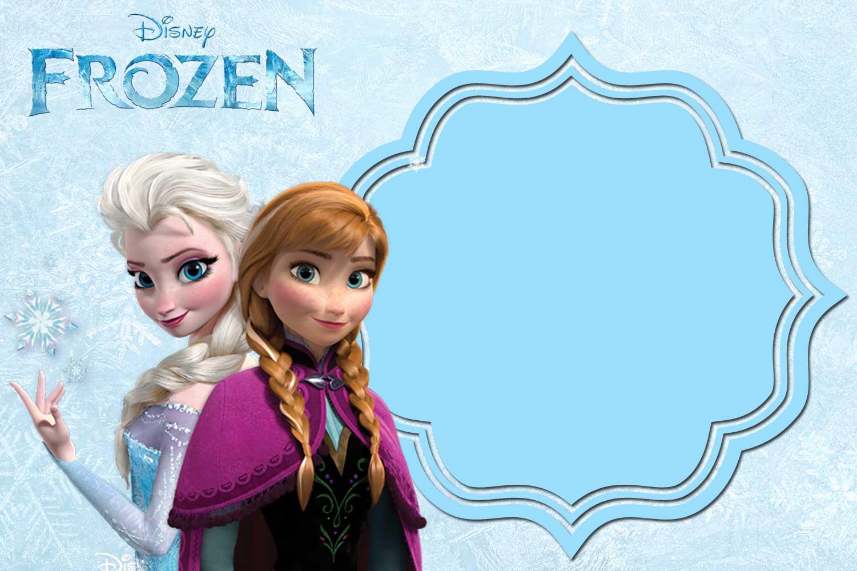 FREE Printable Anna And Elsa Frozen Invitation FREE Printable Birthday Invitation Templates