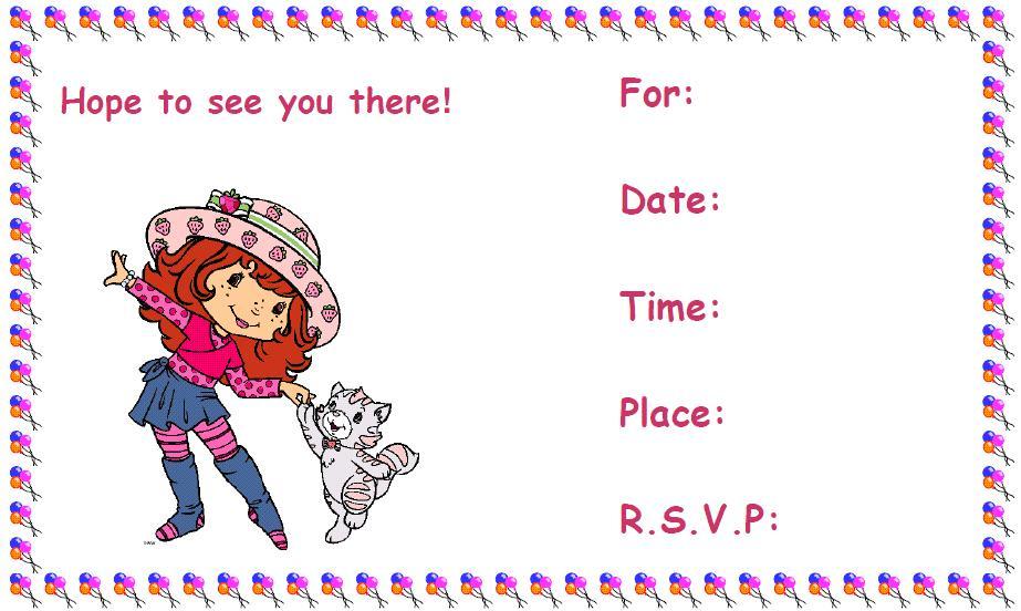 Free Printable Birthday Invite Design Free Printable