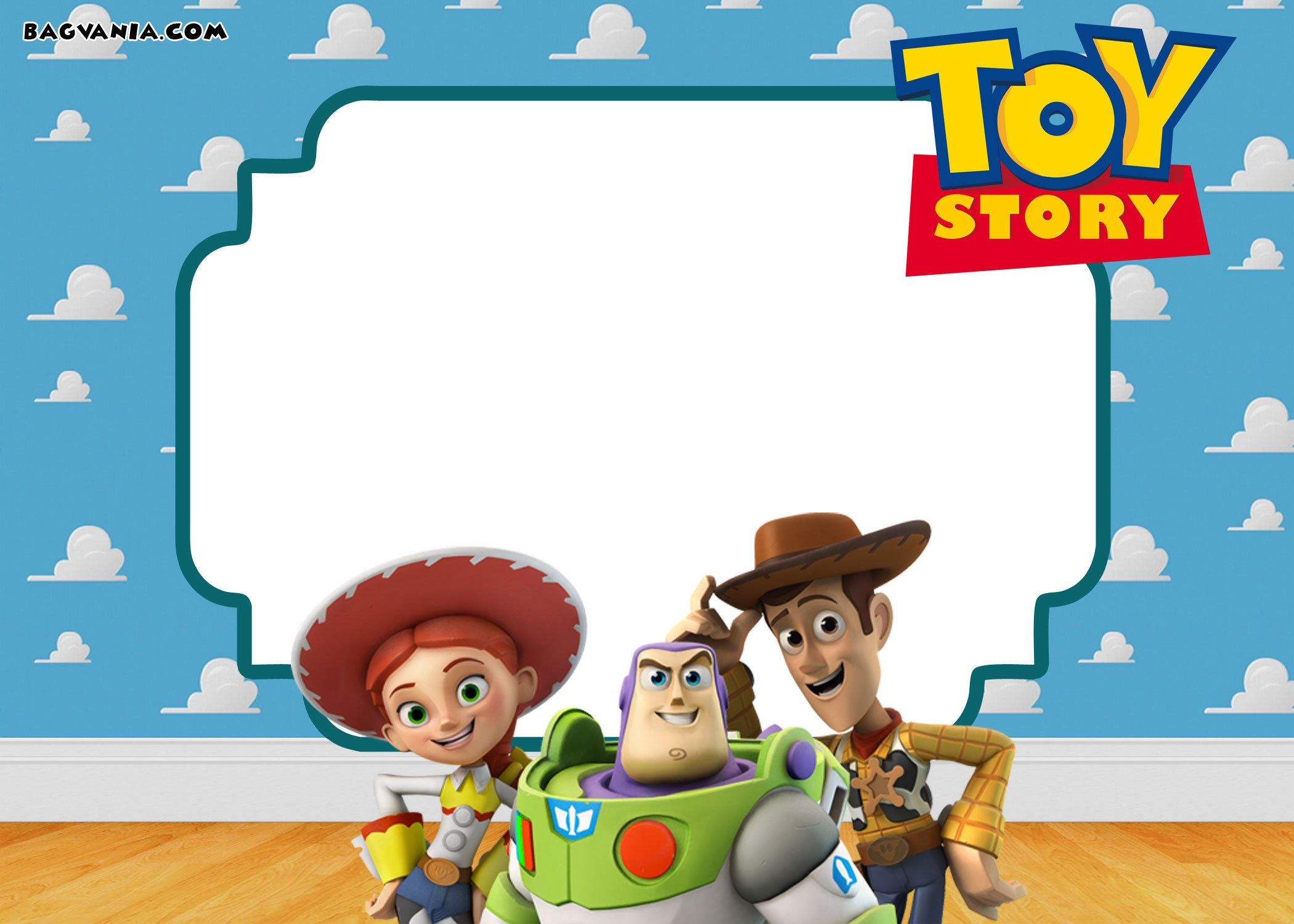 Free Printable Toy Story Birthday Invitations Free