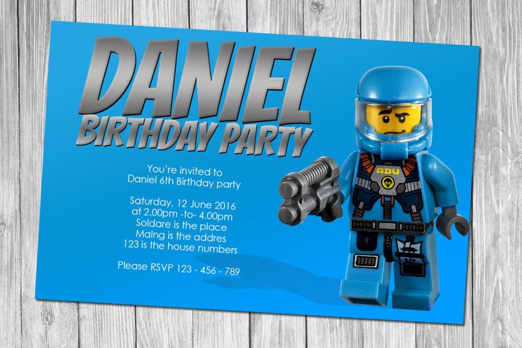 free lego birthday invitations free