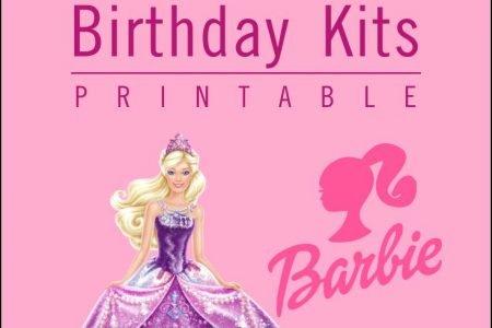 barbie cake topper printable
