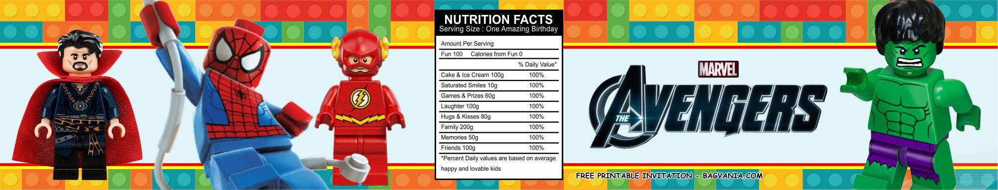 lego avengers birthday party kits