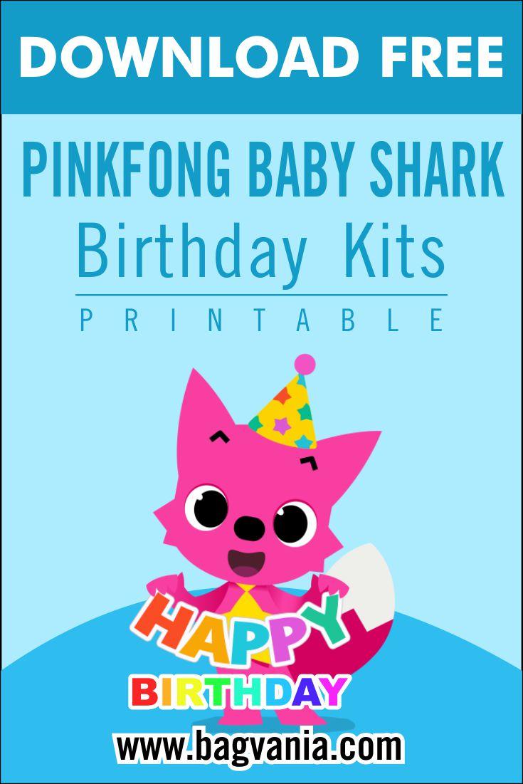 free printable pinkfong baby shark