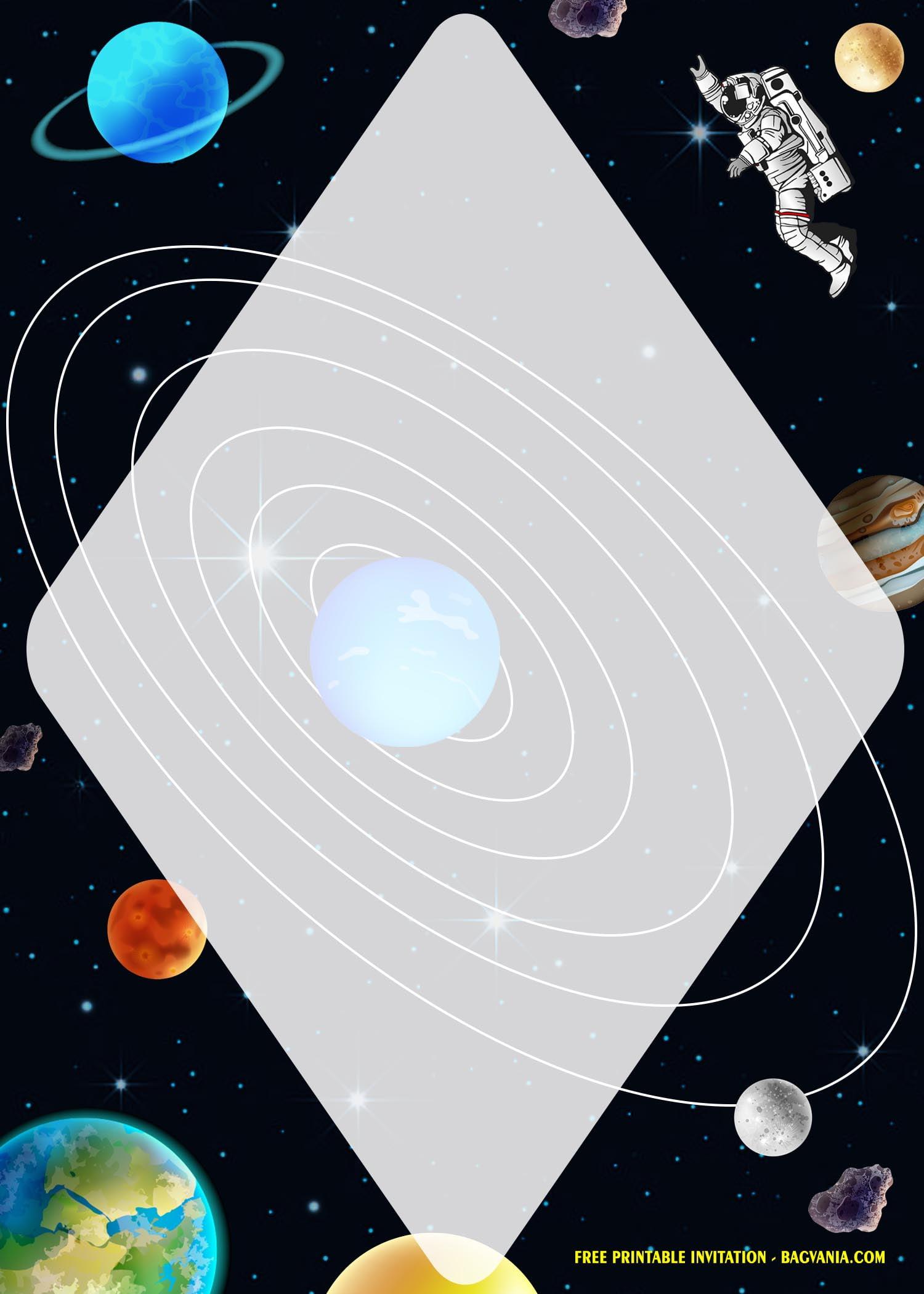 free printable space galaxy birthday