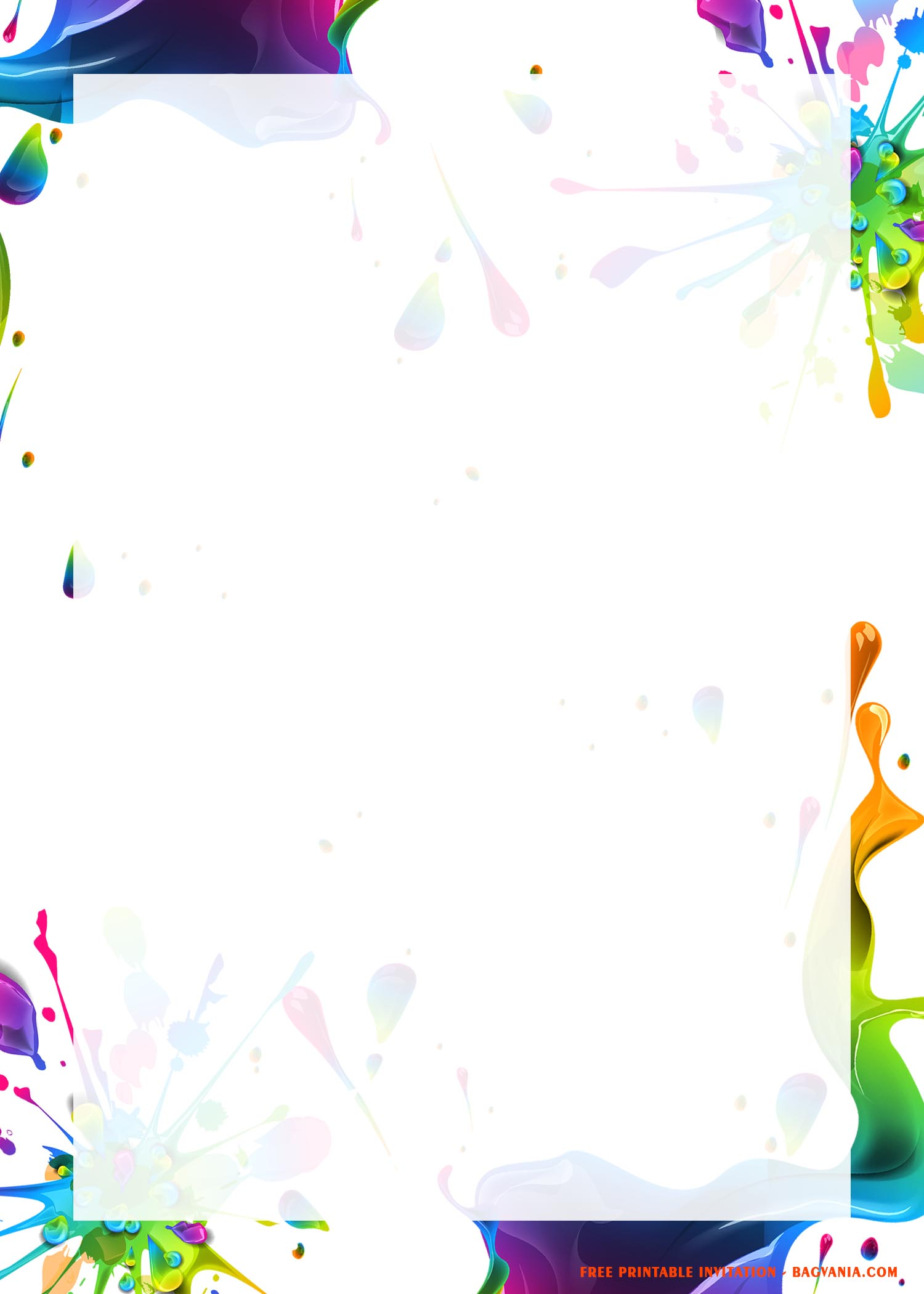 Free Printable Slime Birthday Party Invitation Templates Free Printable Birthday Invitation Templates Bagvania