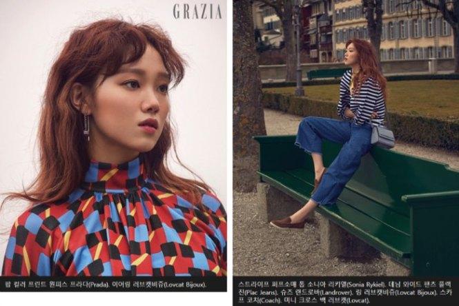 Lee Sung Kyung Grazia Interview