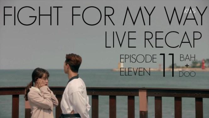 Ssam My Way Live recap episode 11