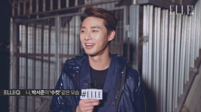 Park Seo-jun 박서준 Elle Interview