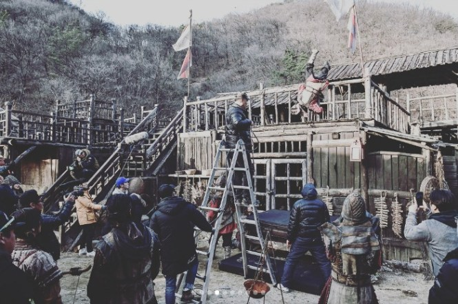 Behind the Scenes (BTS) Making of Grand Prince starring Yoon Shi-yoon and Jin Se-yun
