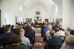 Des autorités locales, des dirigeants religieux des confessions chrétiennes, juives et musulmanes ainsi que des représentants de la société civile se sont réunis le 24 mars dans une ancienne résidence historique de 'Abdu'l-Bahá, située dans le vieux Saint-Jean-d'Acre pour la réception de cette année.