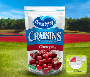 Craisins Dried Cranberries Cherry Juice Infused