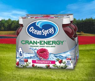 Cran•Energy™ Cranberry Raspberry Energy Juice Drink
