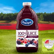 100% Juice Cranberry Blueberry Blackberry