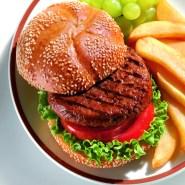 Beef Patty CAB 8 oz