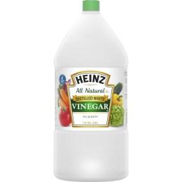 Vinegar,  White Distilled, Gallon Jug