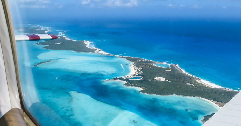 Flights to great exuma with Bahamas Air Tours. Discover the Exumas with a private Bahamas air charter, Miami day trips or Bahamas Island hopping tours.
