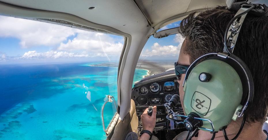 Flights Miami to San Salvador Bahamas with Bahamas Air Tours. Discover the landing site of Columbus San salvador on a private Bahamas Air Charter.
