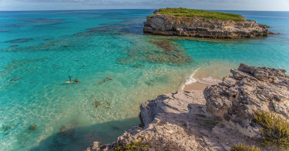 Eleuthera Island Bahamas Island Hopping tours with Bahamas Air Tours. Miami to Bahamas day trip to Harbour Island Eleuthera.